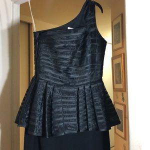 A Halston Heritage  Beautiful Black Dress